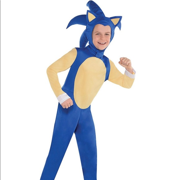 Party City Costumes Large 1214 Sonic The Hedgehog Costume Poshmark